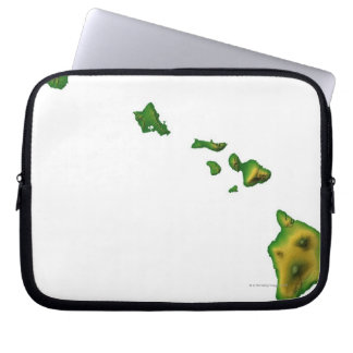 Map of Hawaii 2 Computer Sleeve