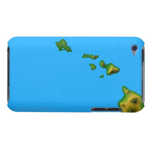 Map of Hawaii iPod Touch Cases