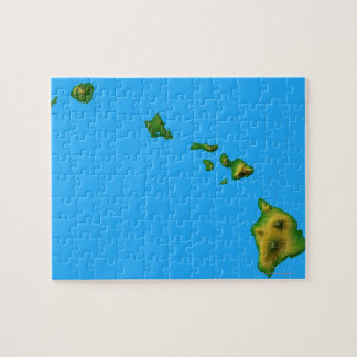 Map of Hawaii Jigsaw Puzzle