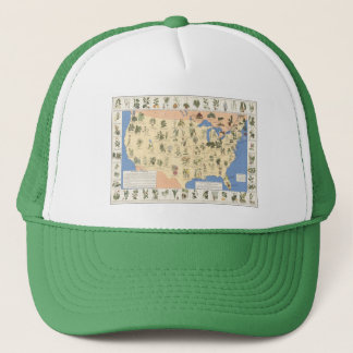 Map of Herbal Remedies hat
