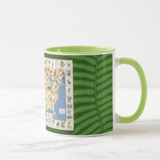 Map of Herbal Remedies mug