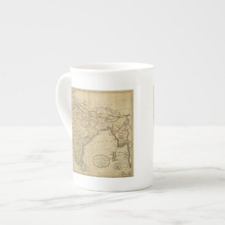 Map of Hindostan or India Tea Cup