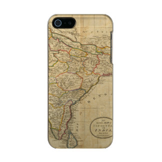 Map of Hindostan or India Incipio Feather® Shine iPhone 5 Case