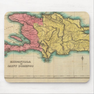 Map Of Hispaniola, Or St Domingo Mouse Pad