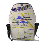 map, hotels, disneyland, messenger, bag, anaheim,