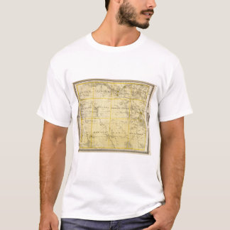 Map of Howard County, State of Iowa T-Shirt