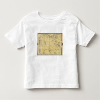Map of Howard County, State of Iowa Toddler T-shirt