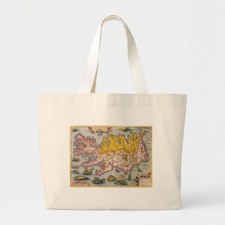 Map of Iceland Bag