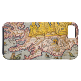 Map of Iceland iPhone SE/5/5s Case