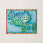 Map of Iceland Jigsaw Puzzles