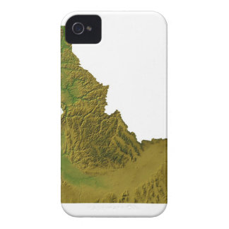 Map of Idaho 2 iPhone 4 Cover