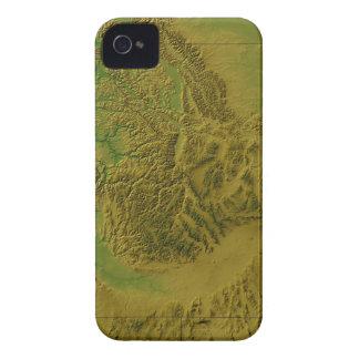 Map of Idaho iPhone 4 Case