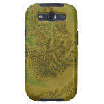 Map of Idaho Samsung Galaxy S3 Case