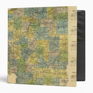 Map of Illinois 2 Binder