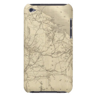 Map of Illinois 2 iPod Case-Mate Case