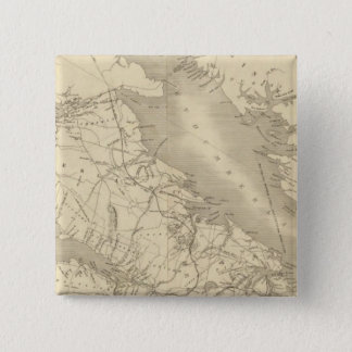 Map of Illinois 2 Pinback Button