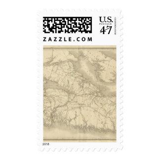 Map of Illinois 2 Postage