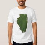 Map of Illinois 2 Shirt