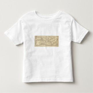 Map of Illinois 2 Toddler T-shirt