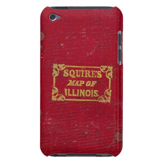 Map of Illinois Barely There iPod Case