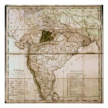 Map of India, 1803 Posters