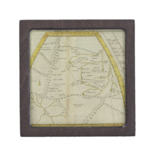 Map of India and Central Asia Gift Box