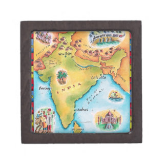 Map of India Gift Box