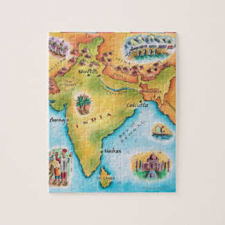 Map of India Puzzles