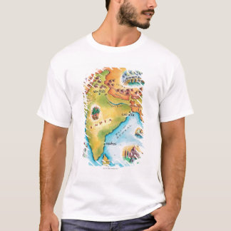 Map of India T-Shirt