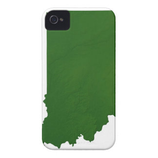 Map of Indiana 2 iPhone 4 Cover