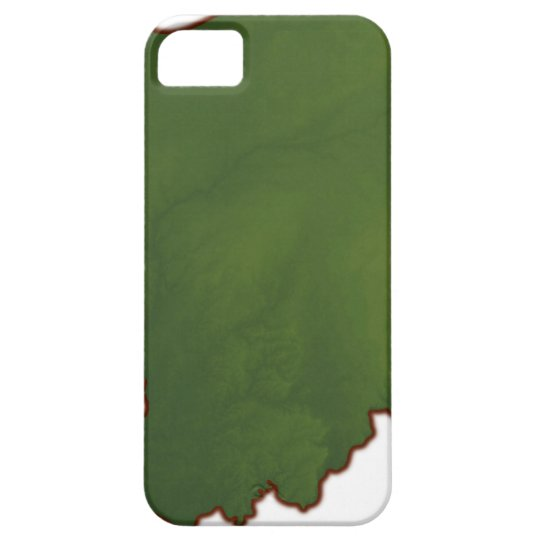 Map of Indiana 3 iPhone SE/5/5s Case