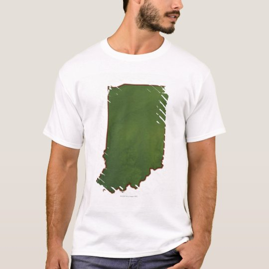 Map of Indiana 3 T-Shirt