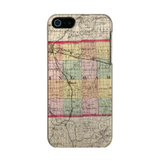 Map of Ingham County, Michigan Incipio Feather® Shine iPhone 5 Case