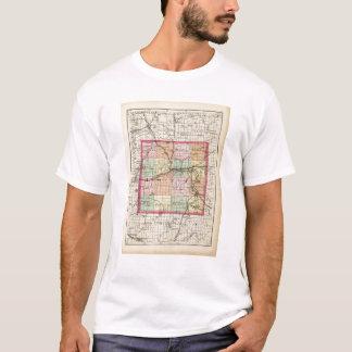 Map of Ionia County, Michigan T-Shirt