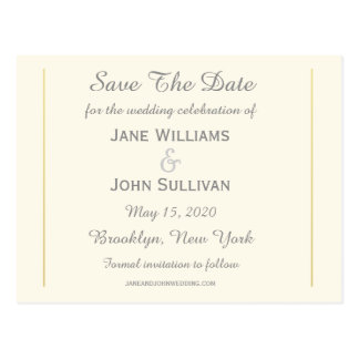 Map of Ireland 1862 Wedding Save The Date (Wide) Postcard