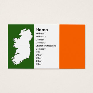 Map of Ireland Business Cards