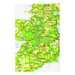 Map of Ireland Emerald Isle St Patrick's Day Stationery