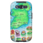 Map of Ireland Galaxy S3 Cases