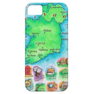 Map of Ireland iPhone SE/5/5s Case