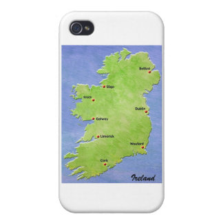 Map of Ireland phone case