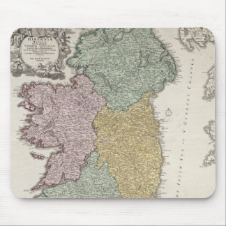 Map of Ireland showing the Provinces of Ulster Mouse Pad