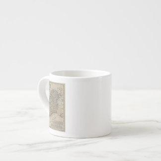 Map of Ireland 6 Oz Ceramic Espresso Cup