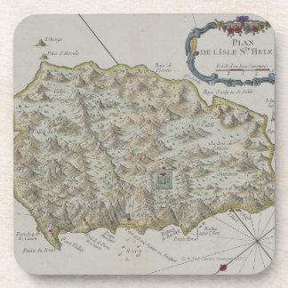 Map of Island of St. Helena Coaster