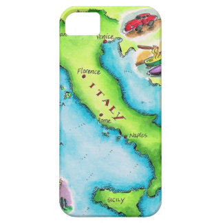 Map of Italy 2 iPhone SE/5/5s Case