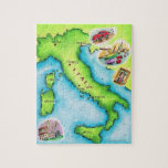 Map of Italy 2 Jigsaw Puzzles