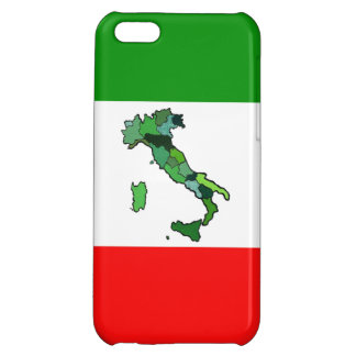 Map of Italy and Italian Flag iPhone 5C Cover