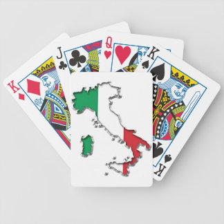 Map of Italy Card Decks