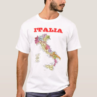 Map of Italy T-Shirt