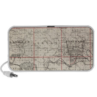 Map of Jackson County, Grand Tower Portable Speaker