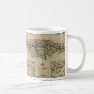 Map of Jamaica (1775) Coffee Mug